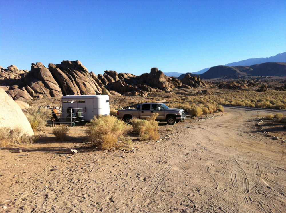 Boon Docking on Alabama Hills