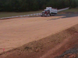 Dressage Arena Gravel Dust Delivery