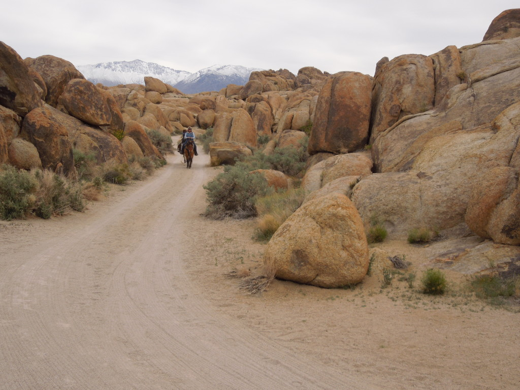 Alabama Hills Rocks